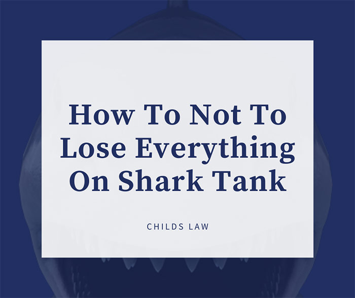 Dark Blue Serif Type With White Background Over Image Of Shark